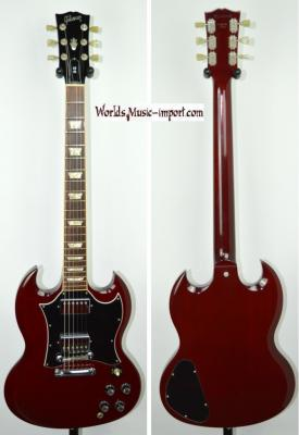 VENDUE.. GIBSON SG Standard Heritage Cherry 1999 USA import *OCCASION*