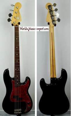 VENDUE... FENDER Precision Bass Standard Black 1999 Japon Import  *OCCASION*