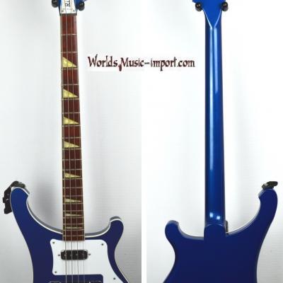 VENDUE... RICKENBACKER Bass 4003 Midnight Blue 2002 USA *OCCASION*