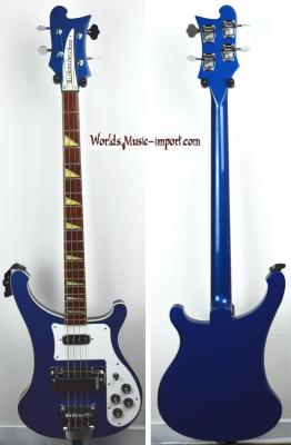 VENDUE... RICKENBACKER Bass 4003 Midnight Blue 2002 USA *OCCASION*