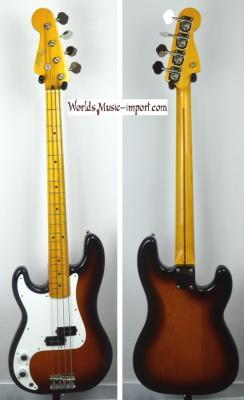 VENDUE... FENDER Precision Bass '57 LH Gaucher 2TS 1993 japon! Import *OCCASION*