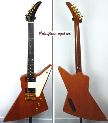 VENDUE... GIBSON Explorer 76' Antique Natural Gloss 2005 USA *OCCASION*