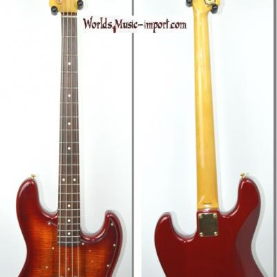 VENDUE... FENDER Jazz Bass JB'62G BBM Flame Top