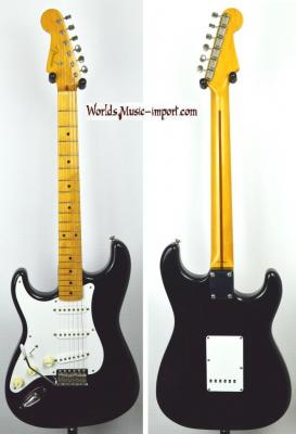 VENDUE... FENDER Stratocaster ST-57' reissue LH Black 2000 Japon import *OCCASION*