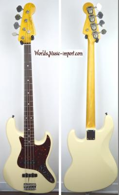 VENDUE... FENDER Jazz Bass JB'62 OWHITE 2006 Japon Import *OCCASION*