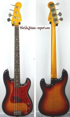 VENDUE... FENDER Precision Bass 62' Sunburst 1989 Japon Import *OCCASION*