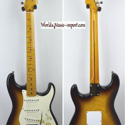 VENDUE... FENDER Stratocaster ST '54 US Sunburst Light Ash 1994 japon Japon Import  *OCCASION*