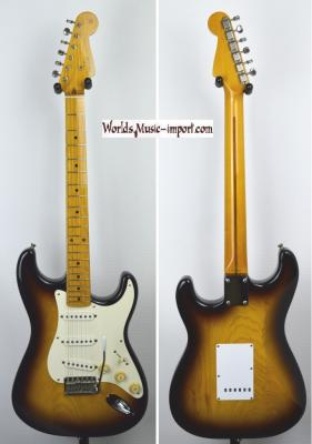 VENDUE... FENDER Stratocaster ST '54 US Sunburst Light Ash 1994 japon Japon Import  *OCCASION*