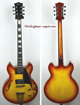 GRECO Sa-500 SB Es339 1973 Flame Top RARE 'touche Ebène ' japon import*OCCASION*