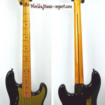 VENDUE.. FENDER Precision Bass '57-95 Black 1983 JV japon Import *OCCASION*