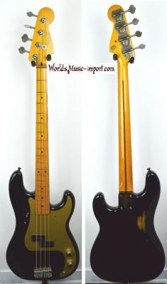 VENDUE.. FENDER Precision Bass '57-95 Black 1983 JV japon Import *OCCASION*