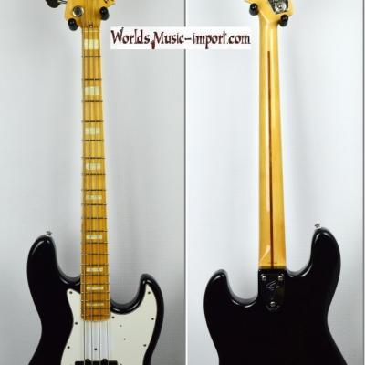 VENDUE... FENDER Jazz Bass '75-US RI black 2003 japon import *OCCASION*