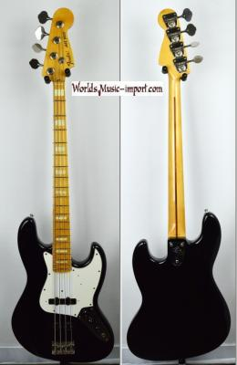 FENDER Jazz Bass '75-US RI black 2003 japon import *OCCASION*