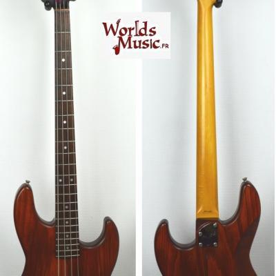 VENDUE... FENDER Jazz Bass JBR-1000 MBR Active 1991 Japon RARE   *OCCASION*