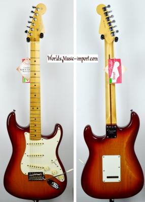 VENDUE... FENDER Stratocaster American Profesionnel Sienna sunburst 2012 USA *OCCASION*