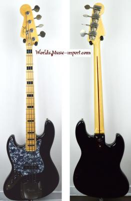 VENDUE... FENDER Jazz Bass JB75'US LH BK 2010 GAUCHER japon import *OCCASION*