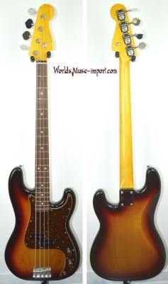 VENDUE... FENDER Precision Bass '62 RI 3TS 2008 Japon import *OCCASION*