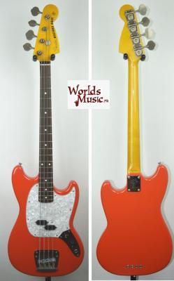 VENDUE... FENDER Mustang Bass MB-98 SC FRD 2000 '1ère série' Japon Import RARE *OCCASION*