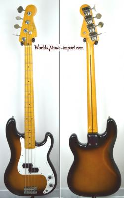 VENDUE... FENDER Precision Bass '57 2TS 1992 Japon import *OCCASION*