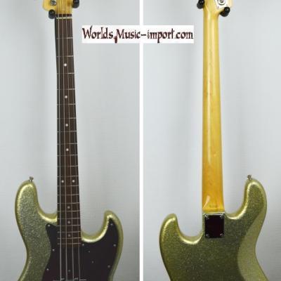 VENDUE... FENDER Jazz Bass 64' Gold sparkle 2007 RARE japon 'hors catalogue' import  *OCCASION*