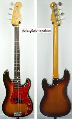 VENDUE... FENDER Precision Bass PB'62 3TS 1991 japon import *OCCASION*