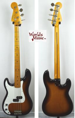 VENDUE... FENDER Precision Bass '57 2TS LH GAUCHER 2002 Japon import