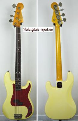 VENDUE... FENDER Precision Bass PB'62 YWH 1999 Japon import *OCCASION*
