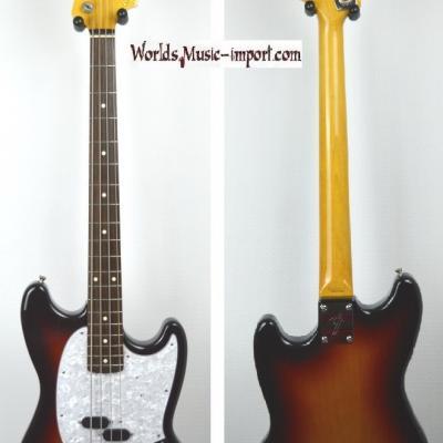VENDUE... FENDER Mustang Bass MB'98 Sunburst 2005 japon RARE import *OCCASION*