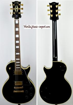 VENDUE... Orville by GIBSON Les Paul Custom Black 1991 Japon Import *OCCASION*