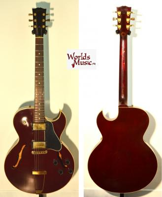 "GIBSON ES 135 Dark Wine Red ""LTD"" 1999 USA import *OCCASION*"