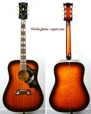 VENDUE... Orville by GIBSON Folk DOVE 1992 Sunburst japon import *OCCASION*