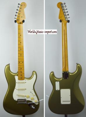 FENDER Japan ST-57-77 LS Metallic Gold 1991 RARE Japon*OCCASION*