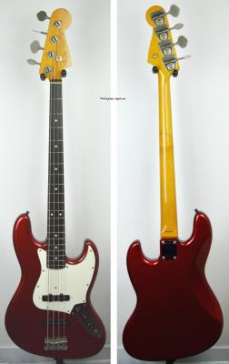 VENDUE... FENDER Jazz Bass '62 RI Candy Apple Red 1990 Japon Import  *OCCASION*