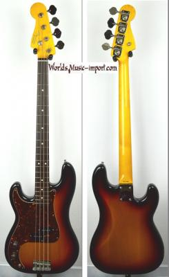 VENDUE... FENDER Precision Bass 62' LH 3TS 2007 'Gaucher' RARE Japon Import *OCCASION*