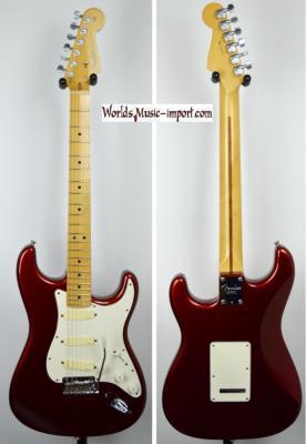 VENDUE... FENDER Stratocaster American Standard CandyCola RARE 2010 'David GILMOUR EMG' USA *OCCASION*