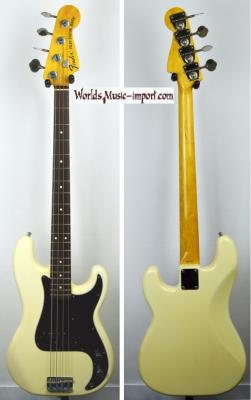 VENDUE... FENDER Precision Bass PB'70-US Reissue VWhite 2006 Japon Import *OCCASION*