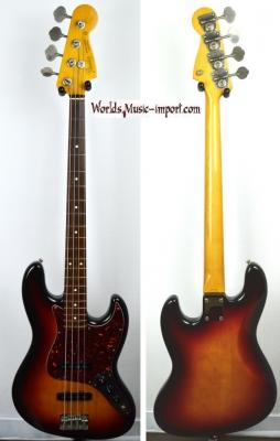 VENDUE... FENDER Jazz Bass 62' RI 3TS 1986 post JV Japon import  *OCCASION*
