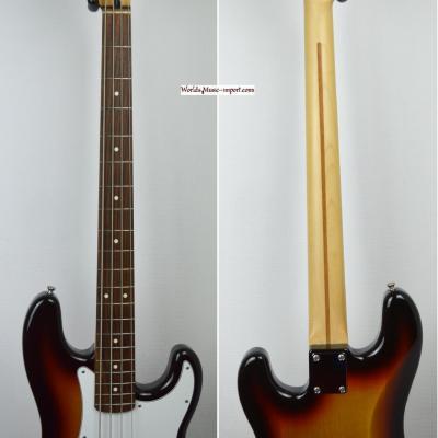 VENDUE... FENDER Precision Bass Standard Sunburst 2010 Japon Import *OCCASION*