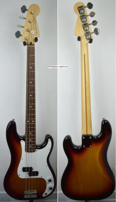 VENDUE... FENDER Precision Bass Standard Sunburst 2010 Japon Import *OCCASION*