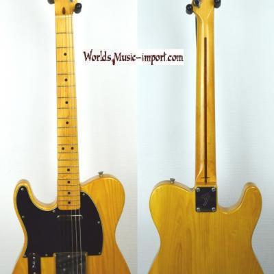 VENDUE... Fender Telecaster 72' Left Hand 1998 ASH Natural Gloss Japan import *OCCASION*