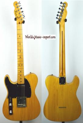 Fender Telecaster 72' Left Hand 1998 ASH Natural Gloss Japan import *OCCASION*
