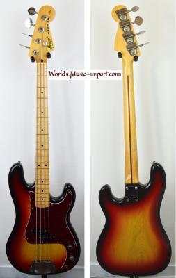 VENDUE... GRECO Precision Bass PB600 'Mercury Bass' Sunburst 1977 Japon import *OCCASION*
