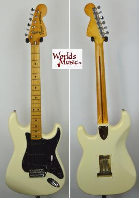 FENDER Stratocaster US' 1979 CBS White Import USA *OCCASION*