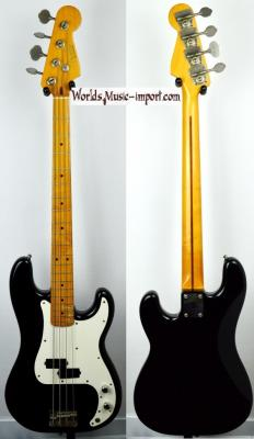 FENDER Precision Bass 57' RI Black 1985 Post JV japon Import *OCCASION*