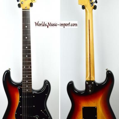 VENDUE... FENDER Stratocaster ST'72 ASH 3TS 1986 CBS post JV JAPON import *OCCASION*
