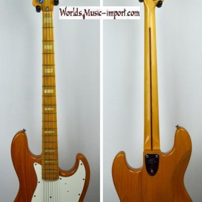 VENDUE... FENDER Jazz Bass JB-75' ASH NAT' Post JV' 1985 Japon import *OCCASION*