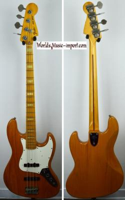VENDUE... FENDER Jazz Bass JB-75' ASH NAT' Post JV' 1985 Japon import *OCCASION*