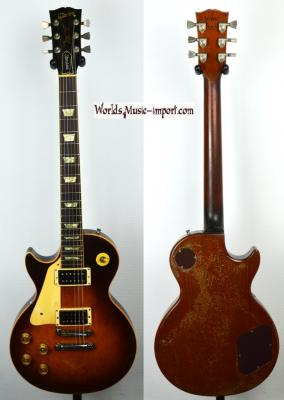 VENDUE... GIBSON Les Paul Standard Lefty 1989 Tobacco Burst 'GAUCHER' RARE US import *OCCASION*