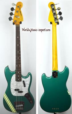FENDER Mustang Bass MB-98' OTM Racing' Competition 2000 Rare Japon import  *OCCASION*