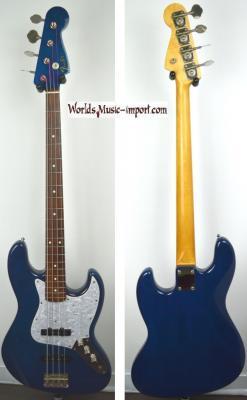 Fender Jazz Bass '62 MH special ASH 1998 TRB Trans Blu